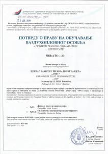 Avis sertifikat